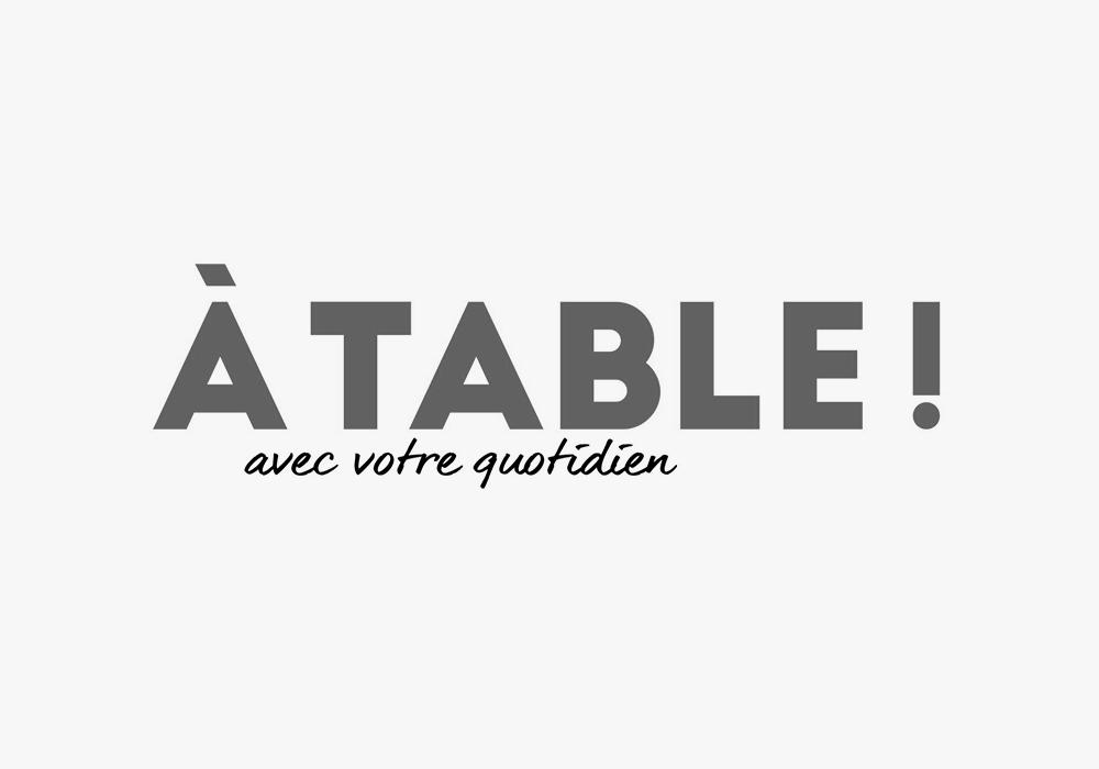 Logo A Table !